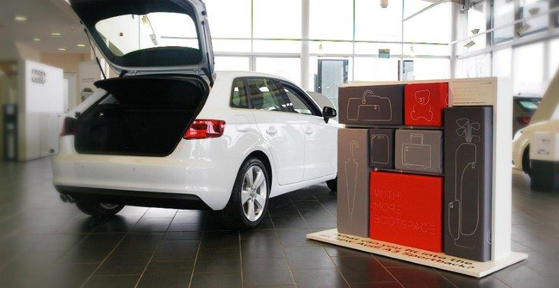 Audi Promotion in showroom 1